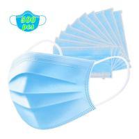 500 Pcs Disposable Earloop Face Masks, Face Masks Medical, 3-Ply Face Mask Medical Surgical Dental Earloop Polypropylene Masks for Personal Health Virus Protection fast delivery by ups dhl fedex